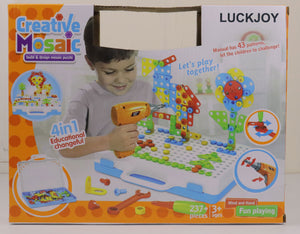 LUCKJOY 237 Pieces Electric DIY Drill Educational Set