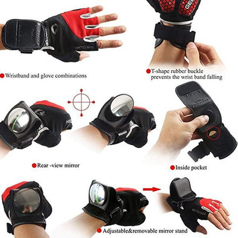 Adjustable Bike Wrist Mirror, Gifts for Cyclists, Children