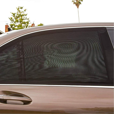 An Genius Temporary Fix for Shading the Kids while Driving