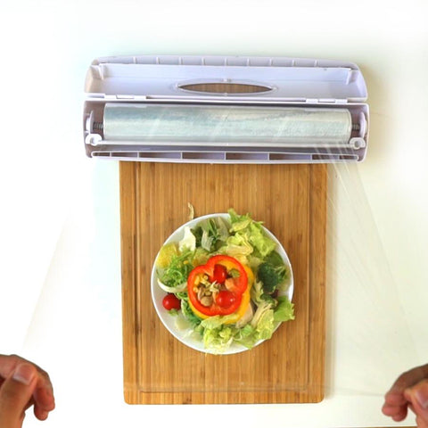 YIJIAOYUN  Foil & Plastic Wrap Dispenser