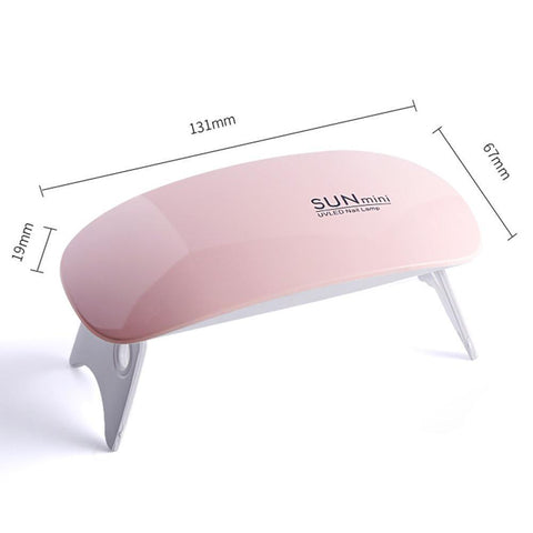 Foldable Mini UV Nail Lamp