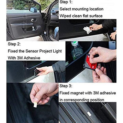 Universal Wireless Car Projection LED Projector