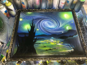 The Starry Night of Van Gogh--by YI JIAOYUN