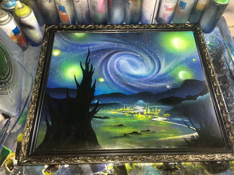 Image of The Starry Night of Van Gogh--by YI JIAOYUN