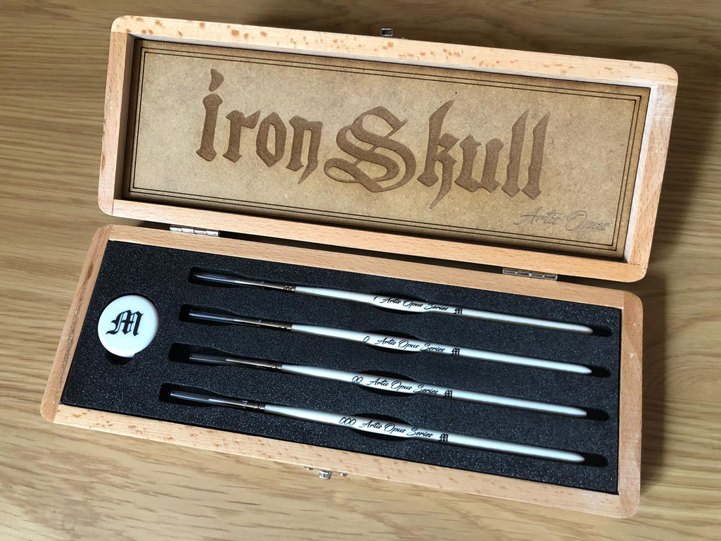 Series M - Brush Set - IronSkull Edition (Limited Release)