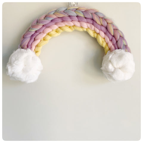 Merino Wool Rainbow (approx. 35cm x 20cm) Made to Order