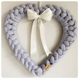 Large Merino Wool Decorative Heart (approx. 50cm x 50cm)