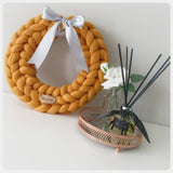 Merino Wool Wreath (approx. 34cm x 34cm)