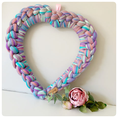 Fairytale Large Decorative Heart (approx. 50cm x 50cm)