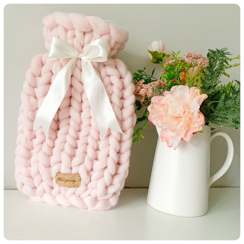 Blush: Large Hot Water Bottle (2ltr)
