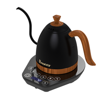 Load image into Gallery viewer, Brewista Artisan 600ml Gooseneck Variable Kettle – Matte Black