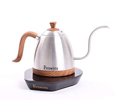 Brewista Artisan 600ml Gooseneck Variable Kettle - Stainless Steel