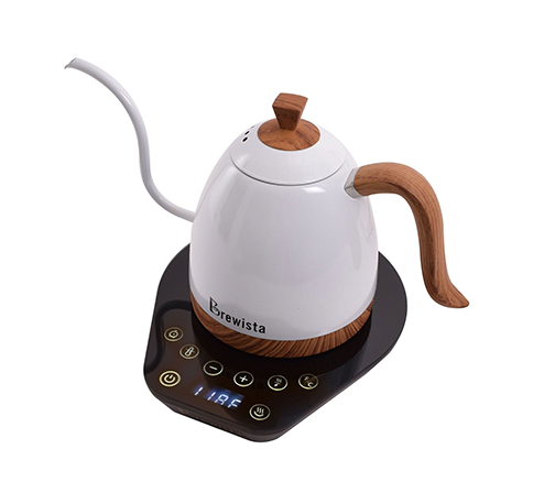 Brewista Artisan 600ml Gooseneck Variable Kettle - Pearl White