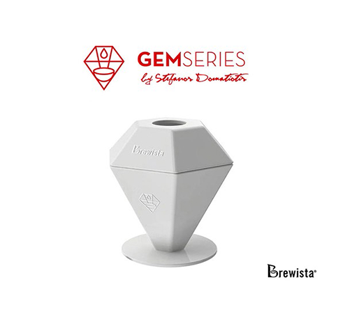 Brewista GEM Porcelain Dripper by Stefanos Domatiotis