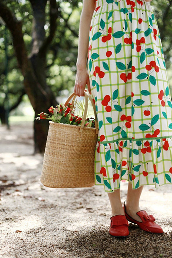 Painter's Cherry Summer Dress