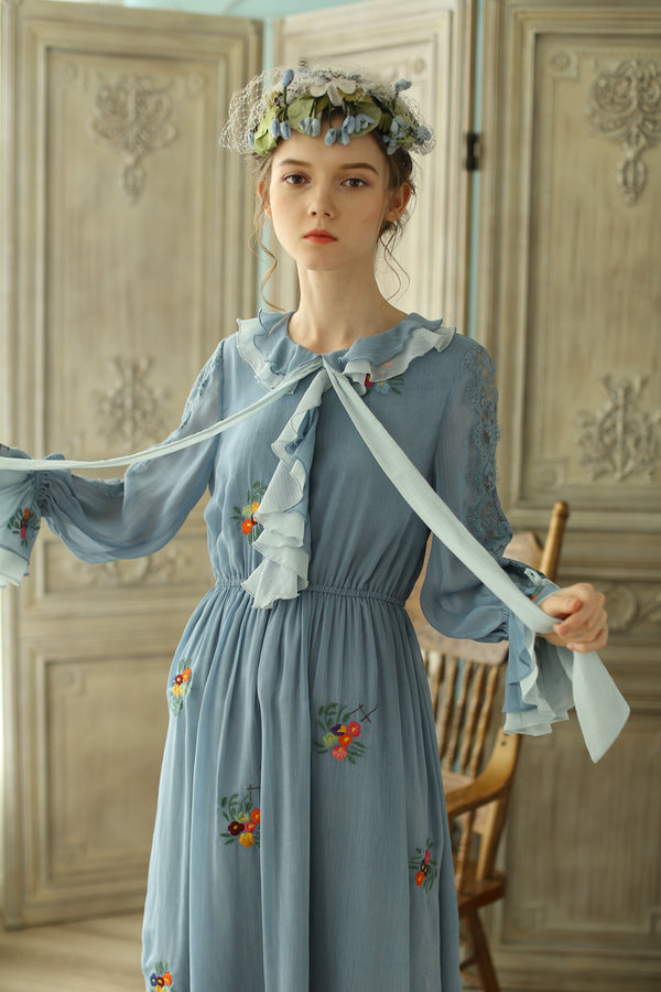 Azalea's Blue Lagoon Floral Dress