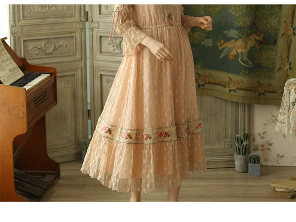 Layla's Victorian In Love Lace Floral Dress