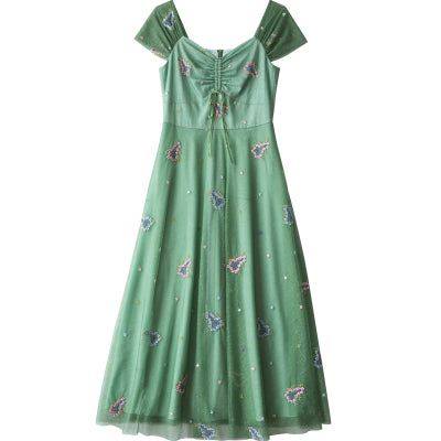 Garden Emerald Green Dress