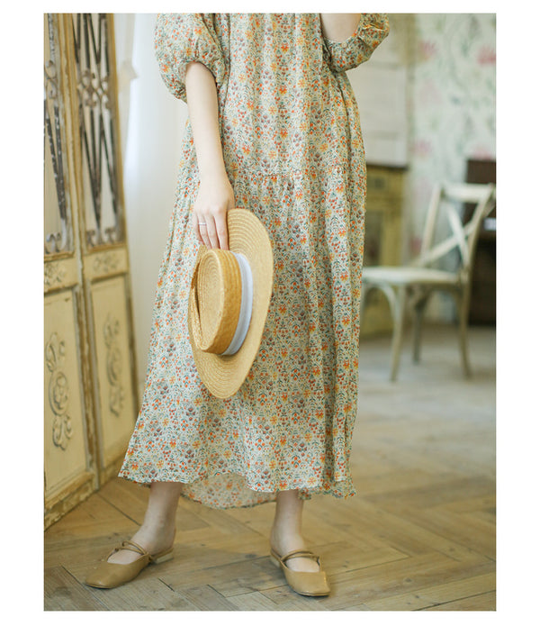 Summer Dreamer Long Floral Dress