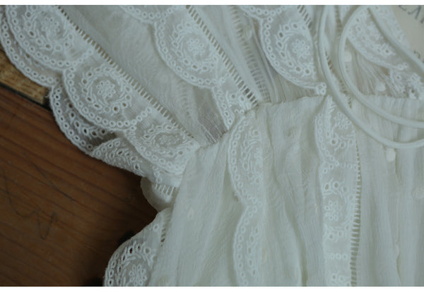 Daisy's Light Cotton Sheer Embroidery