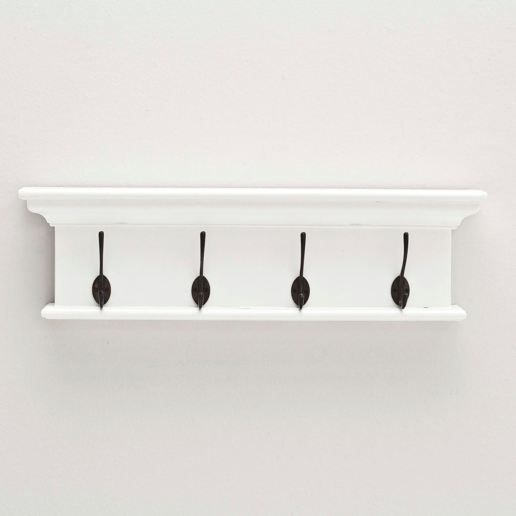 Halifax Coat Rack with Four Hooks