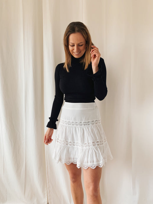 Cute Skirt White