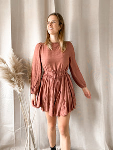 Flowy Autumn Dress