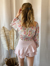 Load image into Gallery viewer, Flowy Pink Skirt/Short