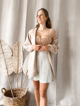 Load image into Gallery viewer, Julie Sleeve Blouse Beige