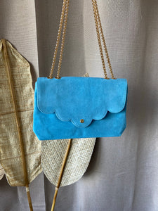 Suéde Bag Blue