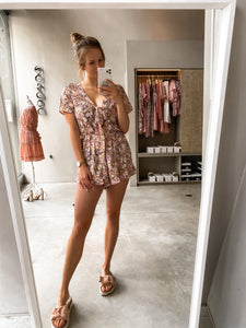 Lily Playsuit Floral