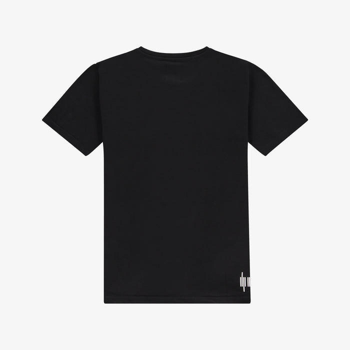 Colourblock Logo T-shirt Black