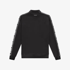 Logo Tape Track Top Black