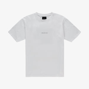 """A Real Box Logo"" T-shirt White Unisex"