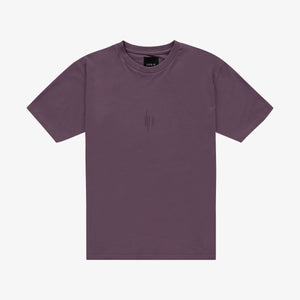 Out Of The Box Logo T-shirt Vintage Violet Unisex