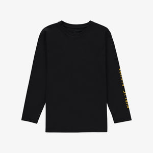 Public Figure Long Sleeve T-shirt Black Unisex