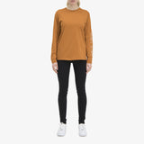Public Figure Long Sleeve T-shirt Rust Unisex