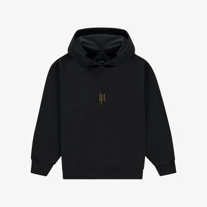 Out Of The Box Logo Hoodie Black Unisex