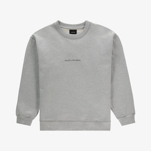 Never Look Back Sweater Grey Unisex