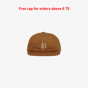 OUT OF THE BOX LOGO CAP RUST UNISEX
