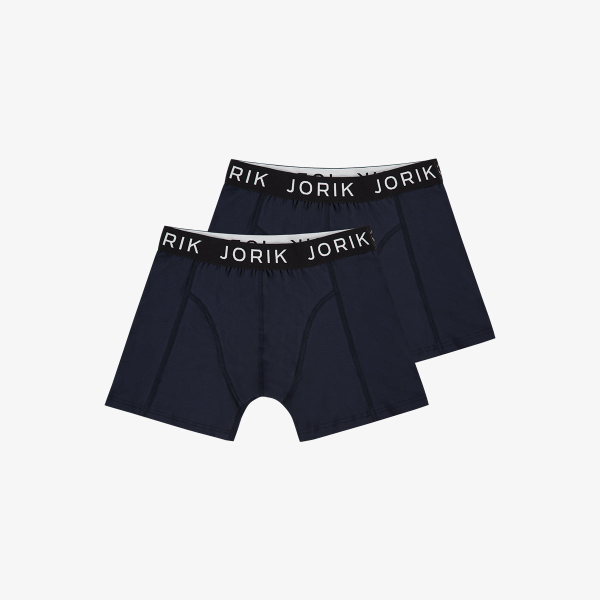 2-Pack Logo Boxer Navy Black