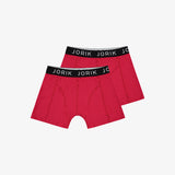 2-Pack Logo Boxer Red Black