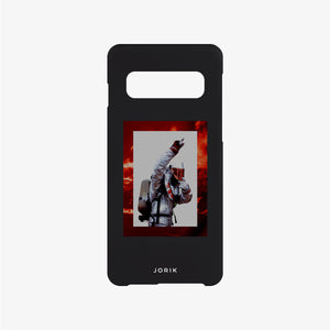 Fire Fighter Phone Case Black