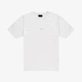 Jorik Logo T-shirt White Red Unisex