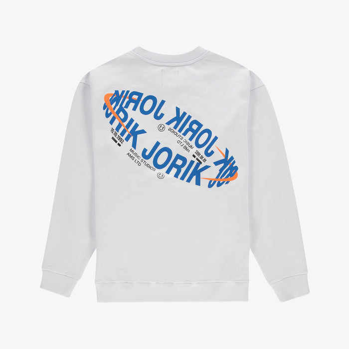 Music Studios Sweater White Unisex
