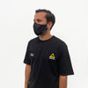 Logo Face Mask Black
