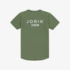 Jorik crew t-shirt green