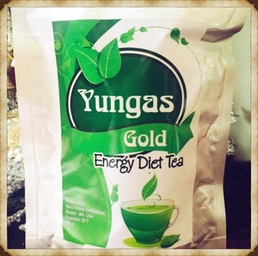 YUNGAS POWDERED TEA MATCHA STYLE