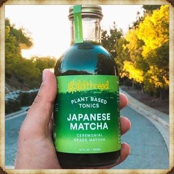 Japanese Matcha - Plant glaze tonic (12oz per Bottle)