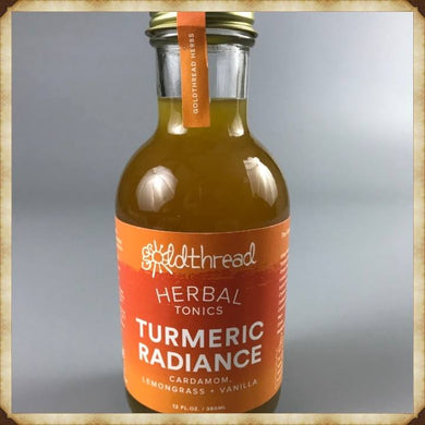 Turmeric Radiance - Plant based tonic (12oz per Bottle)